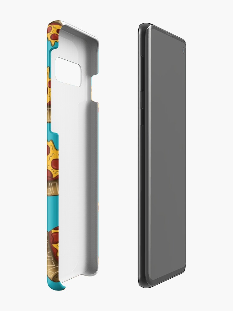 Alternate view of Pizza is LIFE Case & Skin for Samsung Galaxy
