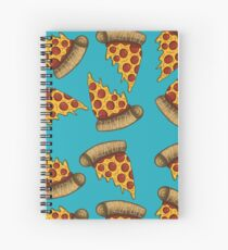Pizza is LIFE Spiral Notebook