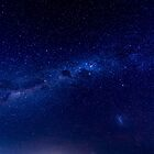 Blue Sky at Night by Dean Bailey