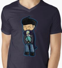 Winter Wilbur Mens V-Neck T-Shirt