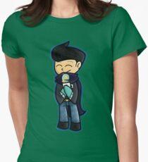 Winter Wilbur Womens Fitted T-Shirt