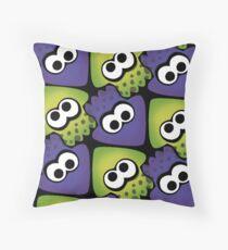 Splatoon Squids Throw Pillow