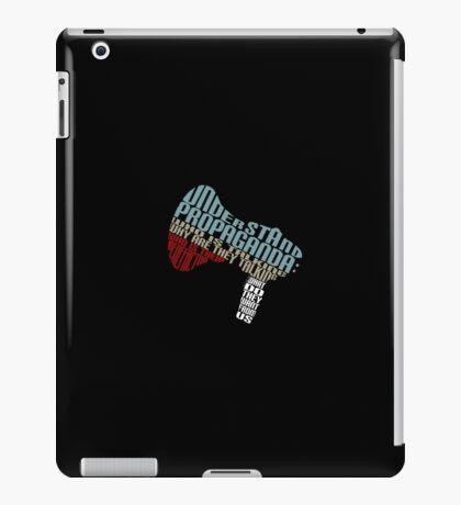 Understand Propaganda -  iPad Case/Skin