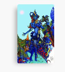 """""""Cyberian"""" Android Goddess MIX 1 Canvas Print"""