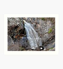 Tyred of Waterfall Pictures? Art Print