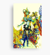 """""""Cyberian"""" Android Goddess MIX 2 Canvas Print"""