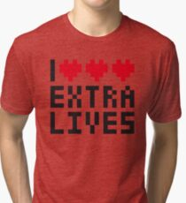 Extra Lives Tri-blend T-Shirt