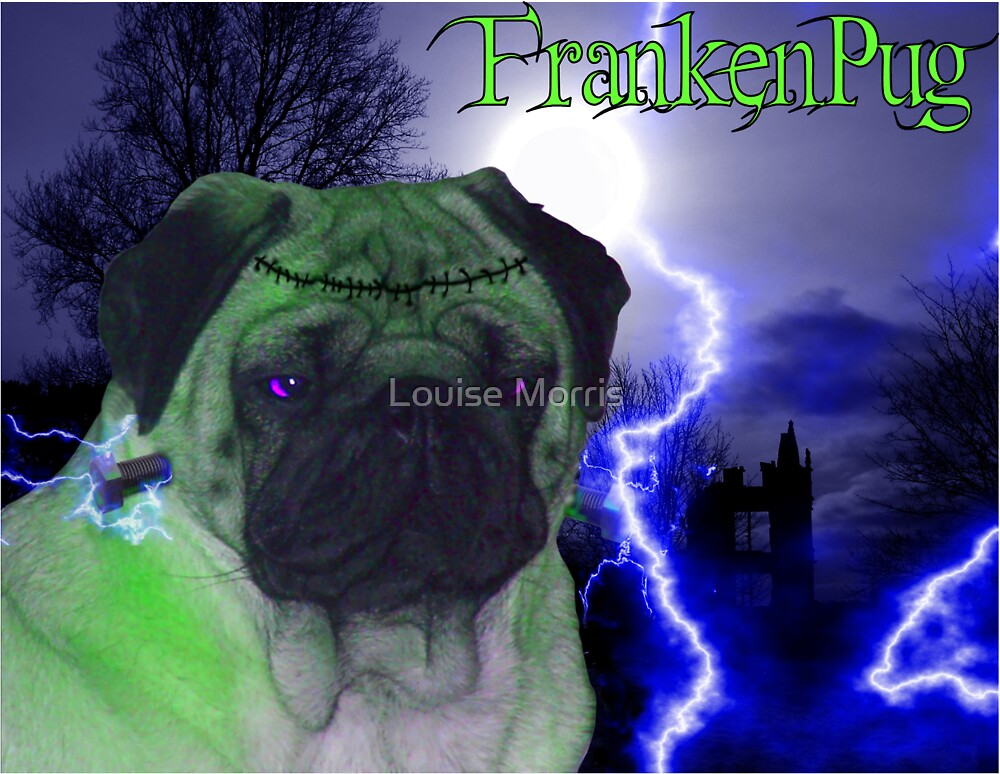 FrankenPug by Louise Morris