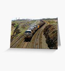 Ore Train, Western Australia Greeting Card