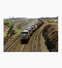 Ore Train, Western Australia Photographic Print