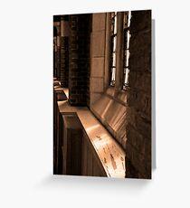 Chapel Sunlight - Huntingdon College, AL Greeting Card