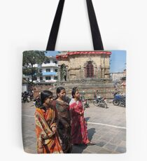 Hindu Women Tote Bag