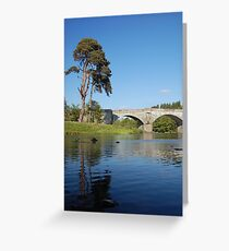 Grace over the water Greeting Card
