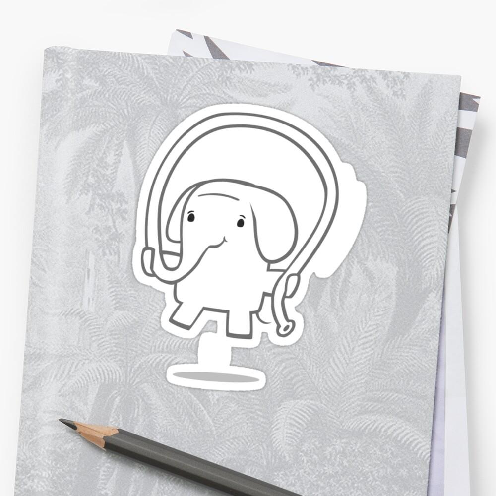 Skipping Elephant by spadaman