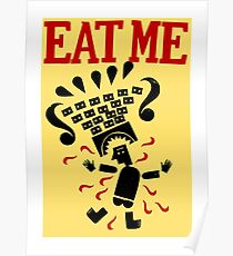 Eat me Poster