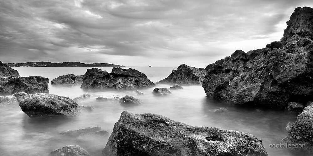 broadsands rocks by scott leeson
