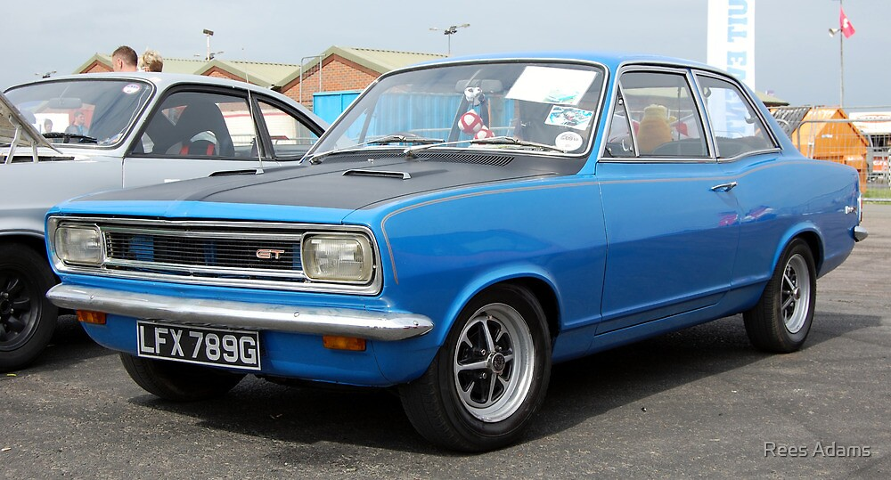 vauxhall viva hb gt by rees adams redbubble