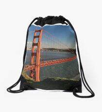 Golden Gate Bridge Drawstring Bag