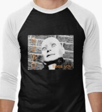 Hugo Sees You Men's Baseball ¾ T-Shirt