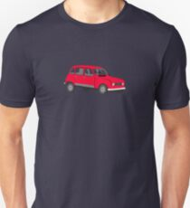Renault 4 GTL Red Unisex T-Shirt