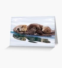 Otterly Adorable! Greeting Card