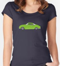Green Karmann Ghia Tshirt Women's Fitted Scoop T-Shirt