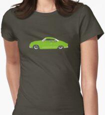 Green Karmann Ghia Tshirt Womens Fitted T-Shirt