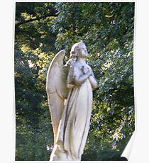 Wings of Love Angel Poster