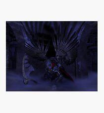 Dark Angel Photographic Print