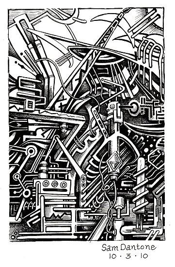 Reawaken the Engine... by Sam Dantone