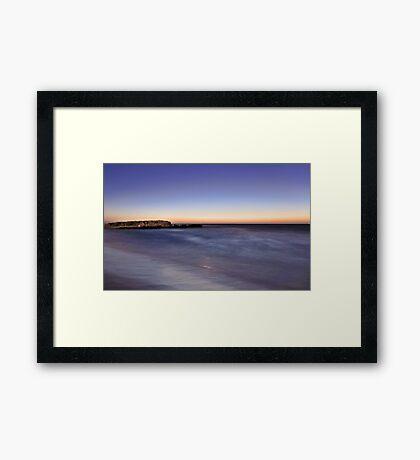 Trigg Beach At Dusk  Framed Print