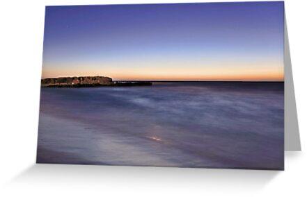 Trigg Beach At Dusk  by EOS20