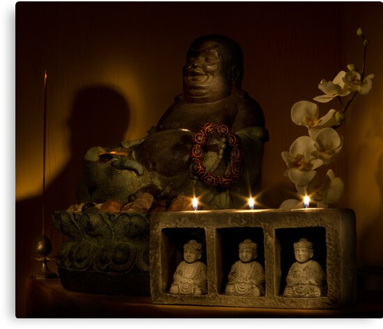 Listen to the voice of Buddha by Peter Zentjens