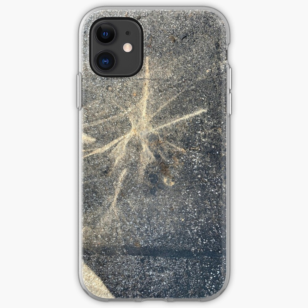 Light Reflection on Asphalt iPhone Case & Cover