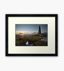 Wainman's Pinnacle, Earl Crag Framed Print