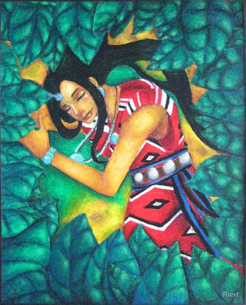 When a Goddess Sleeps by Riext