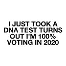 "Blessed Be The Brains ""Turns Out I'm Voting 2020"" Text Design by blessedbebrains"