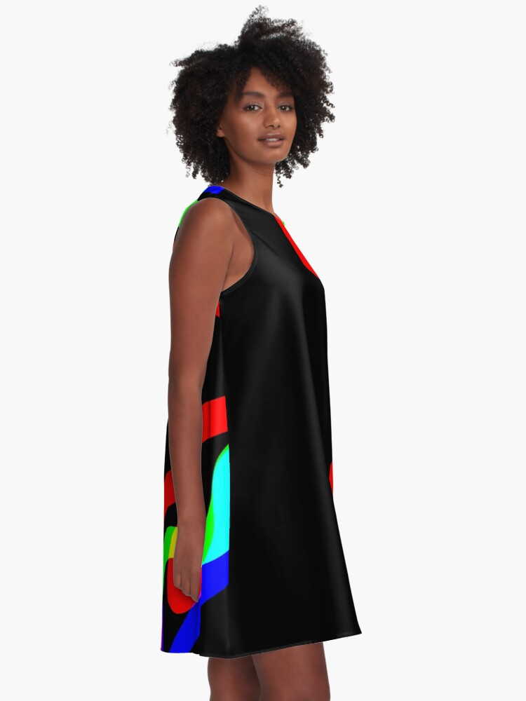 Alternate view of Night Waves A-Line Dress