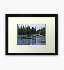 September Rain HDR Framed Print