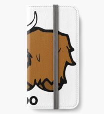 Heilan' Coo - with text iPhone Wallet/Case/Skin