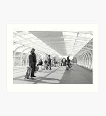 Metrostation - 'Wait - Stay' Art Print