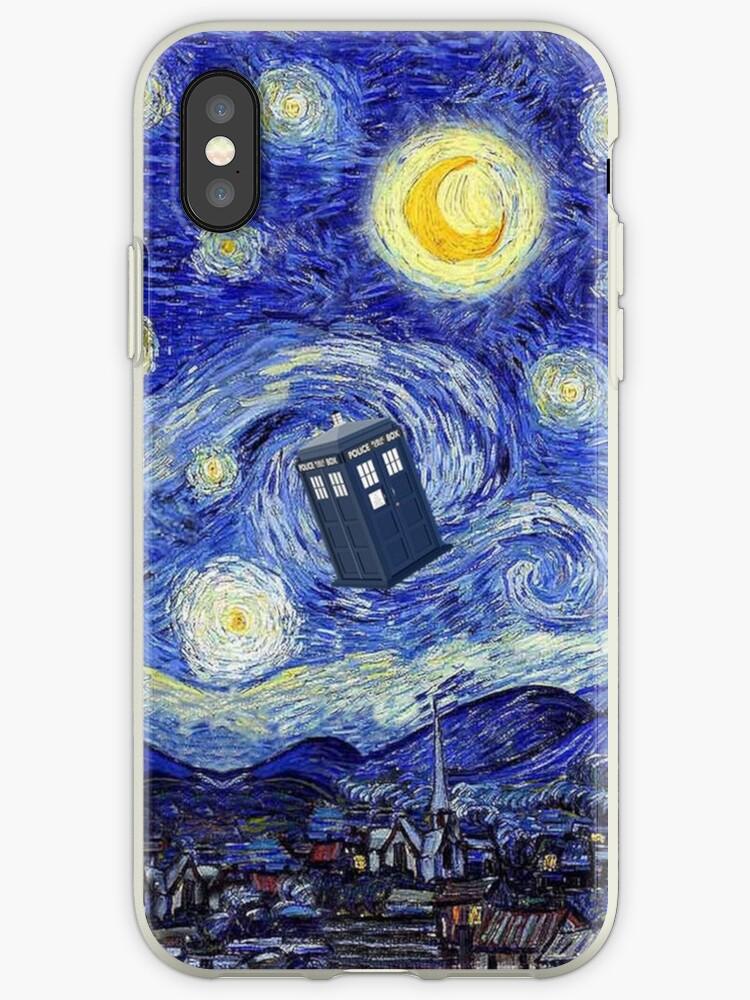 tardis iphone xs case