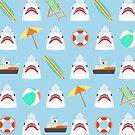 Es ist ein Hai-Sommer! von Plan8