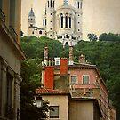 The Basilica of Notre-Dame de Fourvière  by Marcia Luly