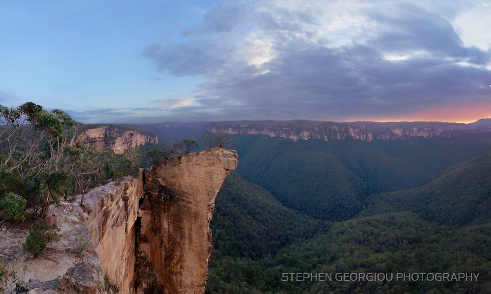 """""""Hanging rock"""" hundreds of meters high. by STEPHEN GEORGIOU PHOTOGRAPHY"""