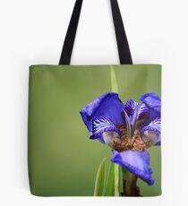 Iris Close-up Tote Bag