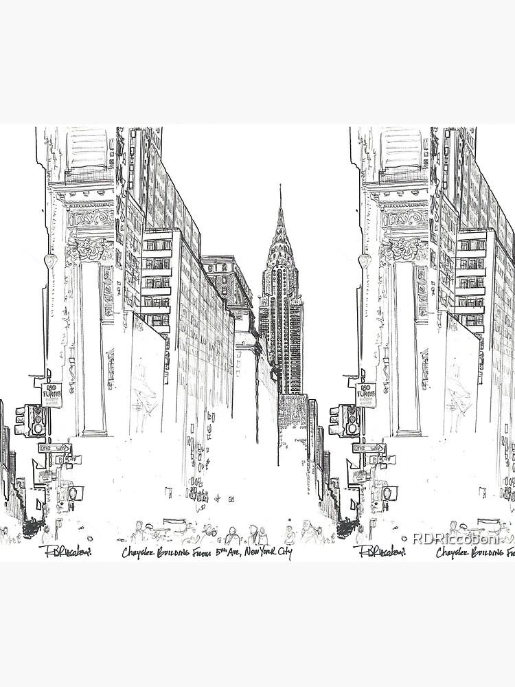 New York City Chrysler Building street picture by RDRiccoboni