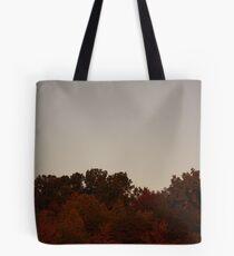 Autumn Moon at Sunrise Tote Bag