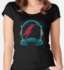 Major tom Women's Fitted Scoop T-Shirt