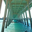 Under the Jetty,  Broome,  Western Australia by Adrian Paul